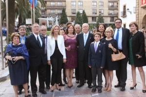 Entrada de la asociación Fulbright a los Premios Príncipe de Asturias