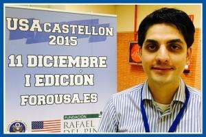 David Guasch en el I Foro USA Castellón