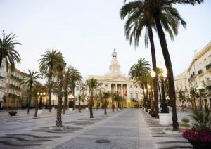 Plaza de San Juan de Dios_Cádiz